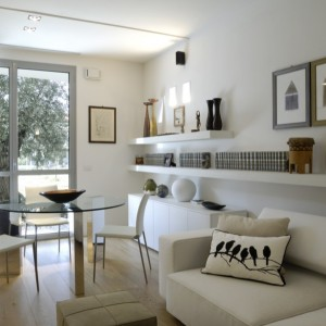interior design appartamento living room design
