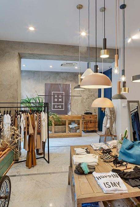 progettare negozio abbigliamento