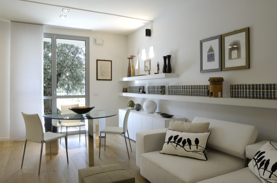 Arredamento casa tra i 50 e i 100 mq idee e progetto for Mini case interni