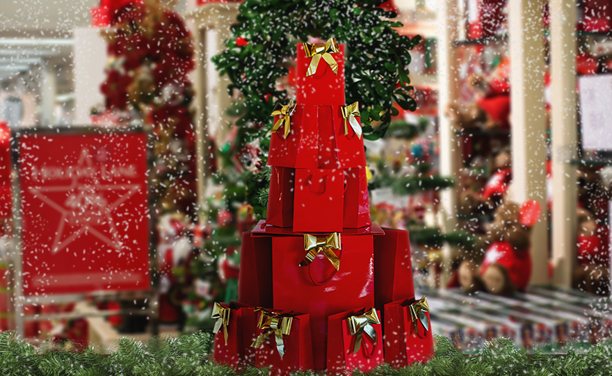 decorative natalizie negozio